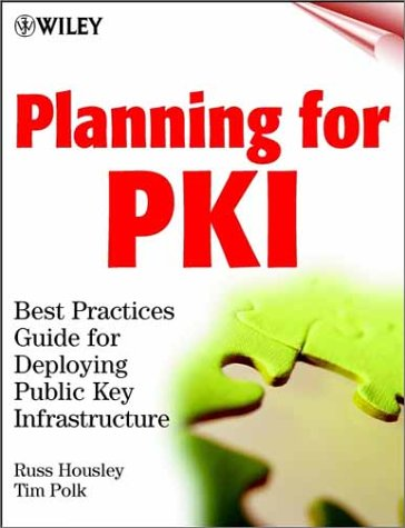 Public Key Infrastructure Book Cover
